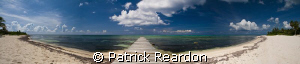 180〫panorama near Conch Point, Grand Cayman.  Great views... by Patrick Reardon