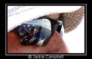 Reflections....... after a land tour on one of the Islan... by Jackie Campbell