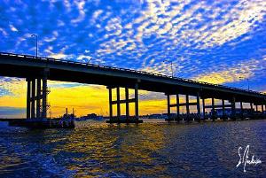 Blue Heron Bridge sunset ..... North America's Muck Divin... by Steven Anderson