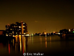 Night Time Reflections by Eric Walker