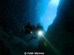 Afkule Diving Site / Turkish Bath by Fatih Sökmen