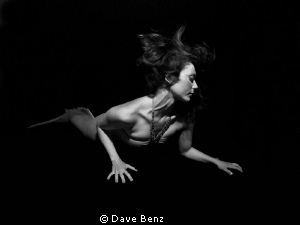 Shooting with mermaid and actress Anna. by Dave Benz