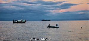 Dusk in Nosy Be by Tony Makin