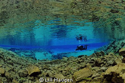 """In """"Silfra"""" in Iceland you dive inside the crack that geo... by Lill Haugen"""