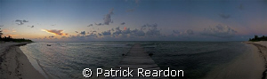 Nice way to end a day of diving and underwater photograph... by Patrick Reardon