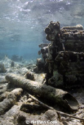 Natural Light shot of an Old Motor at Tres Cocos Belize by Nathan Cook