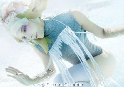 UNDERWATER BEAUTY EDITORIAL for WIENERIN MAGAZINE