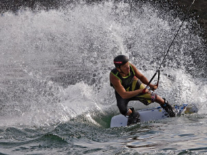 """""""Wakeboarder""""  Not an underwater photography but an int... by Henry Jager"""