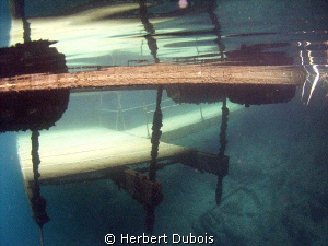 Deep water entry at Dutch Springs, PA by Herbert Dubois