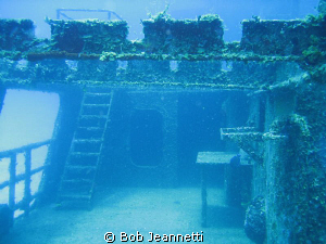 Photo of C-58 wreck in Cozumel by Bob Jeannetti