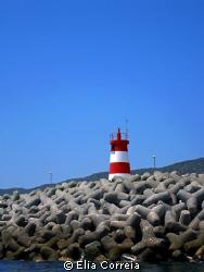 Lighthouse in Sesimbra! by Elia Correia