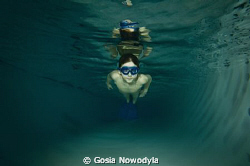 Late night swimming and no school tomorrow!  This is what... by Gosia Nowodyla