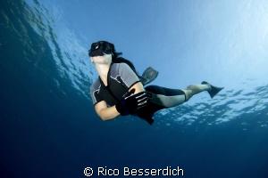 freediving by Rico Besserdich