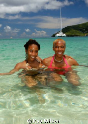 Bequia, having fun! by Kay Wilson