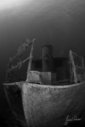 Pinar1 wreck in Bodrum, by Meral Önder