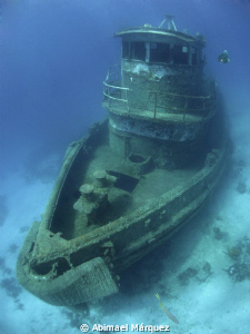 The Wreck and Evelio by Abimael Márquez
