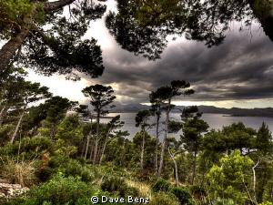 Dark sky... by Dave Benz