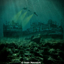 ... The divers have finally found what they had been kook... by Gosia Nowodyla