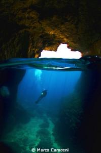 grotta delle viole by Marco Caraceni