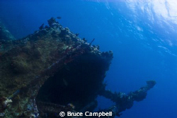Rhone wreckage by Bruce Campbell