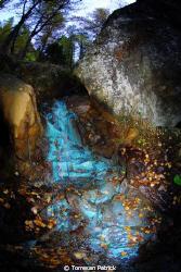 Green water Saint Marcel (Aosta Valley) by Torresan Patrick