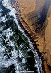 The South Atlantic meets the Skeleton Coast. by Chris Wildblood