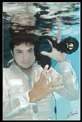 Underwater DJ by Adriano Trapani