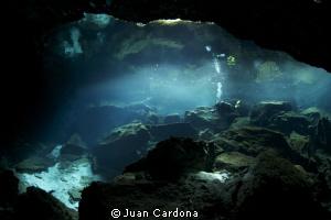 cenote Chac Mool by Juan Cardona