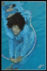 Nina (8yrs) a.k.a Underwater Fairy by Adriano Trapani