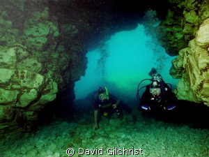 Entering the Grotto, Bruce Peninsula National Park, Tober... by David Gilchrist