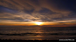 Sunset over koh lanta looking out at  koh haa on loy krat... by Tim Ho