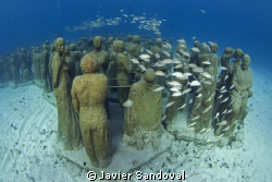 MUSA underwater museum Cancun by Javier Sandoval