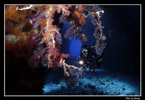 St. Jone's caves.  Model: Dragica K. by Charly Kotnik