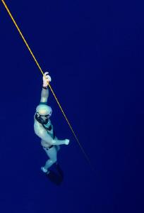 Freediver by Veronika Matějková