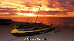Anakao sunset  by Mauro Serafini
