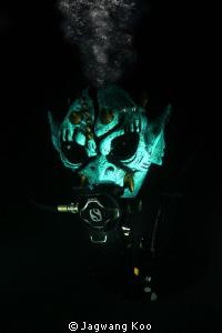 Celebrate Halloween Underwater by Jagwang Koo