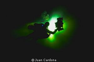 caverns of yucatan by Juan Cardona