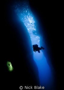 Diving the Inland sea, Gozo by Nick Blake