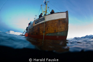 the coldest dive so far this year  :) by Harald Fauske