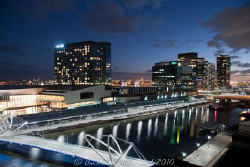 Melbourne Docklands area - a rejuvinated port by Andrew Macleod
