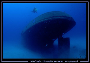 Diving the Rozy in Malta... Que du bonheur... :O)... by Michel Lonfat