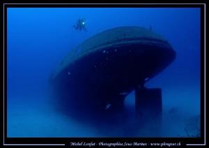 Diving the Rozy in Malta... Que du bonheur... :O)... by Michel Lonfat