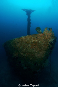The bow of the Alma Jane in Sabang, Puerta Galera Philipp... by Joshua Tappert