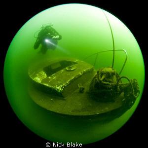 Elisabeth Austin Lifeboat, Wraysbury Lake. Shot with a 4... by Nick Blake