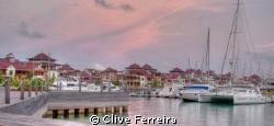 New Eden Island Marina by Clive Ferreira