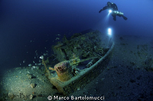 ww2 Little German WRECK - Bettolina di Lazzaro by Marco Bartolomucci