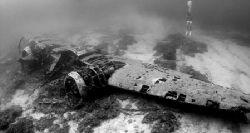 WWII Blenheim Bomber, Malta. by James Dally