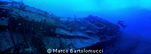 ww2 german wreck Bettolina di Lazzaro by Marco Bartolomucci