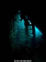 Inside Liberty Wreck by Els Van Den Borre