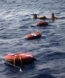 Freediving training.. by Veronika Matějková